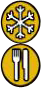 Banished-Symbole für Hungern und Frieren