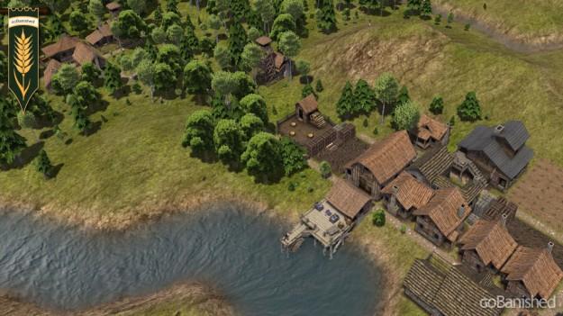 Banished: kleine Siedlung für die Vertriebenen