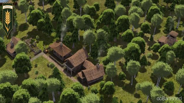 Banished: Rohstoffe abbauen