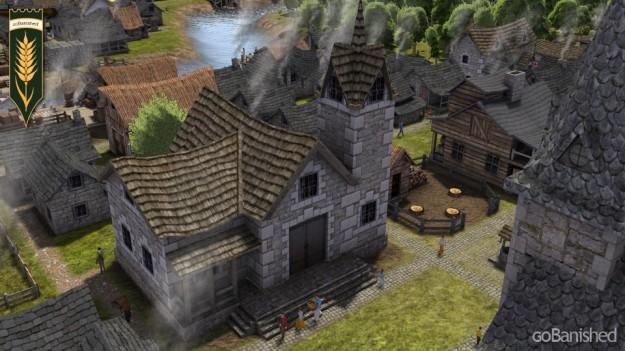 Banished: Verwaltung mit dem Gemeindehaus