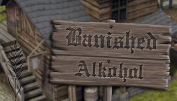 Banished Alkohol