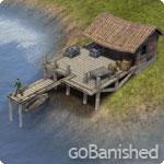 Banished Gebäude Fischerhütte (fishing dock)