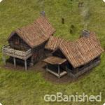Banished Gebäude Jägerhütte (hunting cabin))