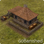 Banished Gebäude Sammlerhütte (gatherer's hut))