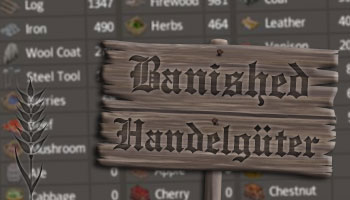 Banished Handelsgüter